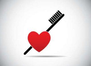 Proteja o coração escovando os dentes. Foto: Divulgação