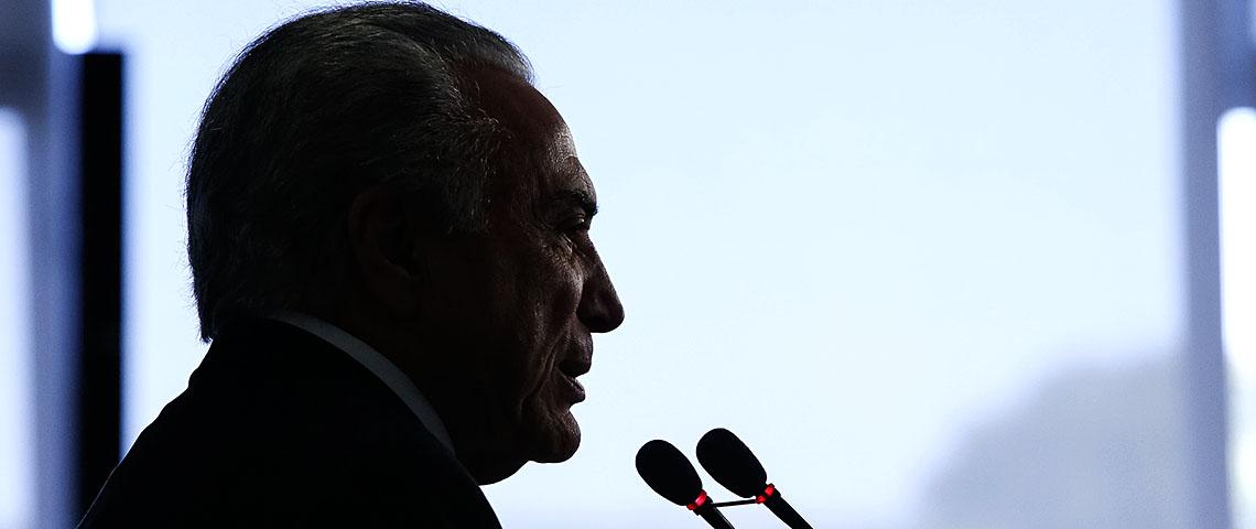 Michel Temer. Foto: Alan Santos/PR