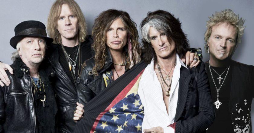 Aerosmith. Foto: Divulgação