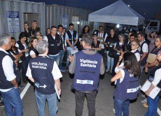 Vigilância Sanitária no Rock in Rio. Foto: Divulgação