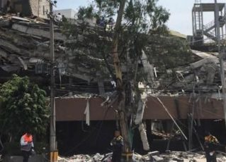 Terremoto no México. Foto: Agência Brasil