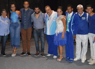 Equipe para o Carnaval 2018 da Tradição. Foto: Divulgação