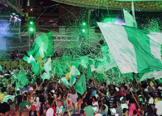 Final de samba da Imperatriz Leopoldinense. Foto: Henrique Matos