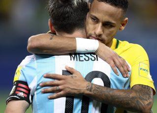Messi e Neymar. Foto: Reprodução de Internet