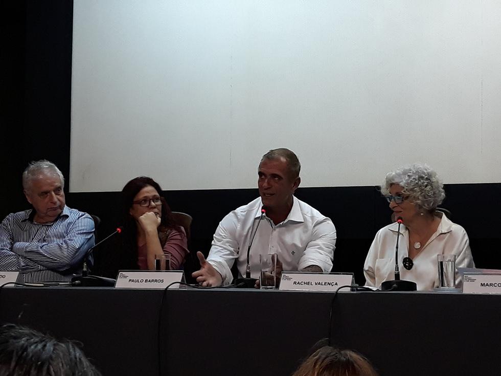 Evento no MIS com Paulo Barros. Foto: Verônica Bittencourt Scisinio