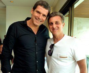 Alexandre Accioly e Luciano Huck. Foto: Redes Sociais