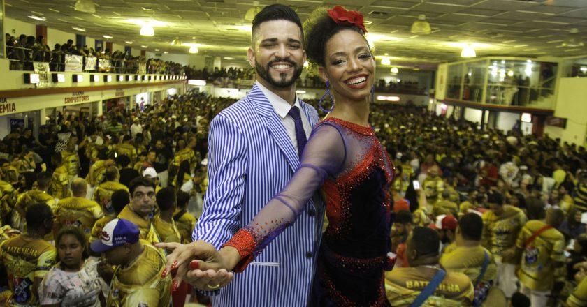 Phelipe Lemos e Dandara Ventapane. Foto: Maurício Pingo