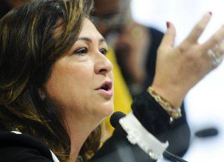 Kátia Abreu. Foto: Marcos Oliveira/Agência Senado)