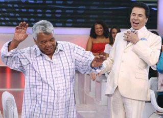 Roque e Silvio Santos. Foto: Divulgação
