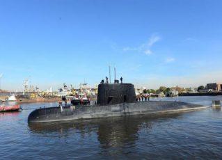 Submarino argentino ARA San Juan. Foto: Divulgação