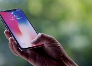 iPhone X. Foto: Reprodução