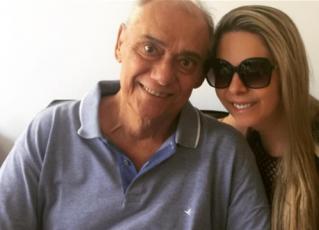 Marcelo Rezende e Luciana Lacerda. Foto: Reprodução/Instagram