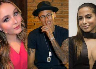 Larissa Manoela, Neymar e Anitta. Foto: Reprodução de Internet