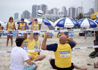 Projeto 'Praia Para Todos'. Foto: Divulgação