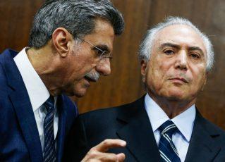 Romero Jucá e Michel Temer. Foto: Reprodução de Internet
