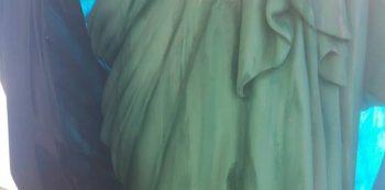 Parte de escultura da Portela. Foto: Divulgação