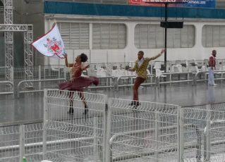 Mocidade Unida da Mooca ensaia no Anhembi. Foto: SRzd