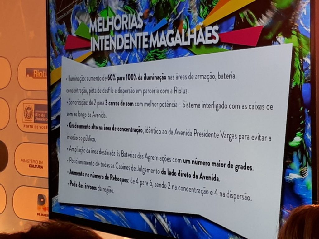 Mudanças no Carnaval do Rio. Foto: SRzd