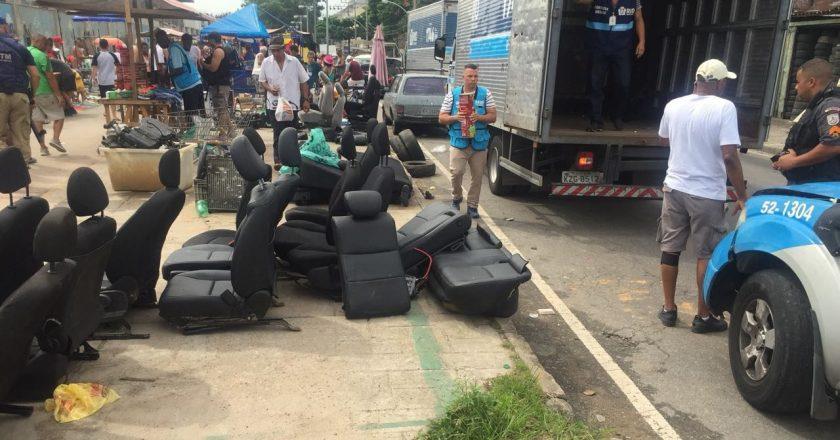 Ação integrada de fiscalização coíbe irregularidades na Feira de Acari. Foto: Divulgação