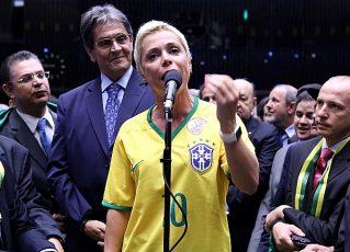 Cristiane Brasil. Foto: Antonio Augusto/Agência Câmara