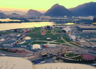 Arena Carnaval Rio. Foto: Reprodução de TV