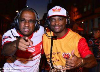 Dudu Falcão e Alex Fab. Foto: Carlos Papacena