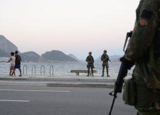 Agentes em ação no Rio. Foto: Tomaz Silva - Fotos Públicas