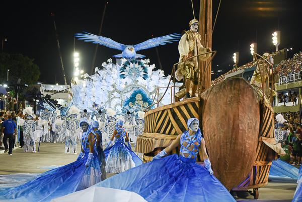 Desfile Portela 2018. Foto: Juliana Dias/ SRzd