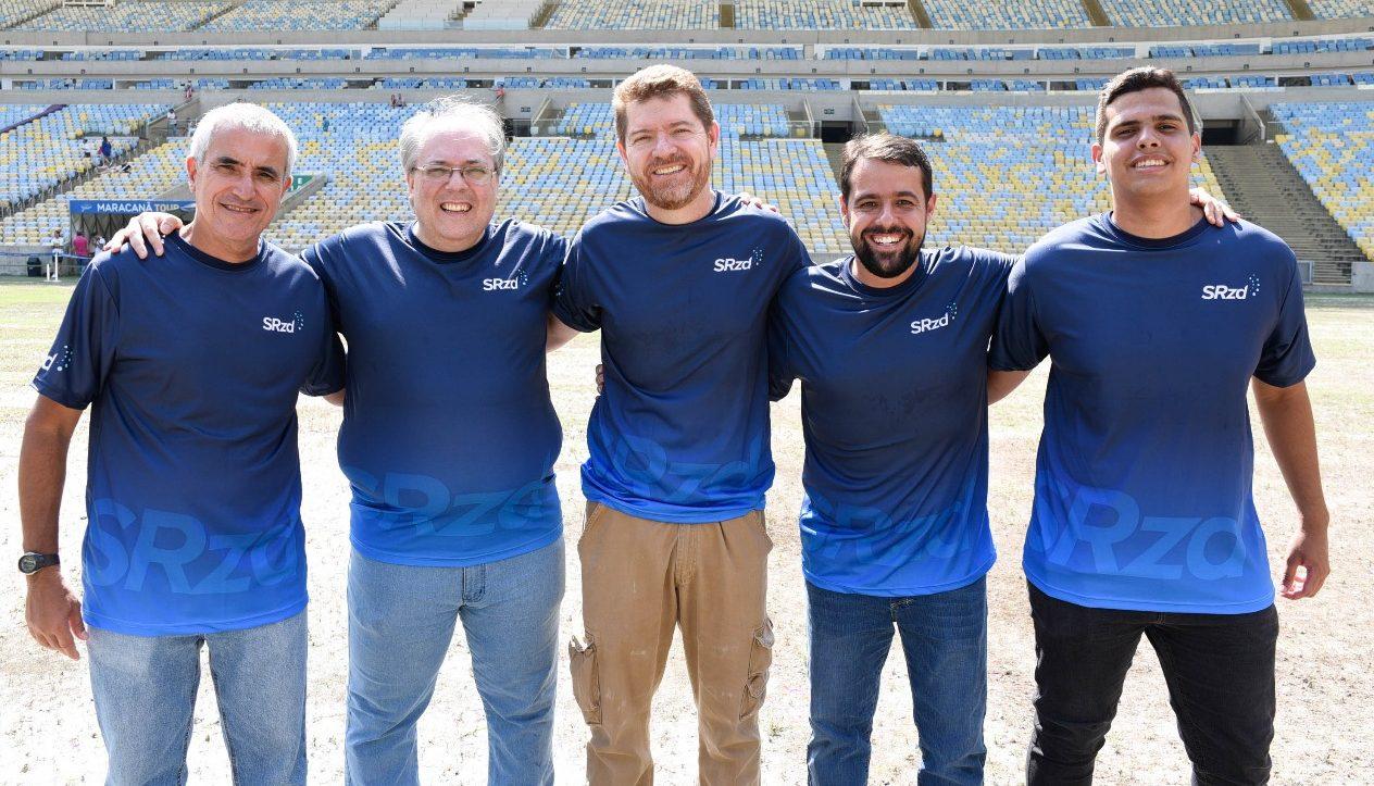Equipe de esportes da Rádio SRzd. Foto: SRzd