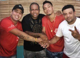 em-Tem Jr e Luís Oliveira são os novos intérpretes da Unidos de Bangu. Foto: Divulgação