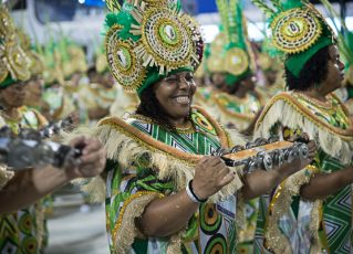 Desfile da Império da Tijuca 2018. Foto: SRzd/Juliana Dias