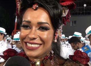 Raissa de Oliveira. Foto: Reprodução/Youtube