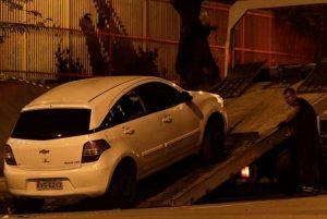 Carro onde morreu Marielle e Anderson. Foto: Reprodução de Internet