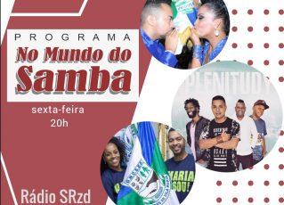 Lais, Everson e Grupo Plenitudy 'No Mundo do Samba'