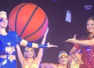 Katy Perry e Gretchen. Foto: Reprodução/Instagram