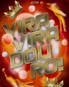 Logotipo do enredo da Viradouro para o Carnaval 2019. Foto: Divulgação