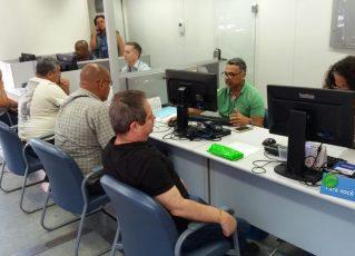Atendimento do Procon Carioca. Foto: Luiz Almeida