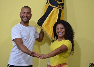 Fabricio Pires e Giovanna Justo. Foto: Rafael Arantes