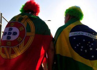 Brasileiros em Portugal. Foto: Reprodução