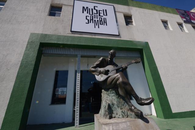 Fachada do Museu do Samba. Foto: Diego Mendes
