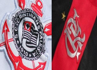 Corinthians e Flamengo. Foto: Divulgação