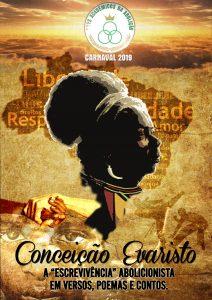 Acadêmicos da Abolição acerta enredo sobre a escritora Conceição Evaristo para O Carnaval 2019. Foto: Divulgação