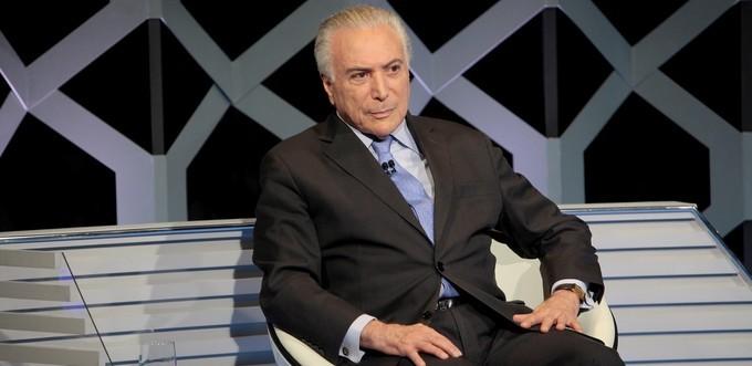 Michel Temer. Foto: Divulgação