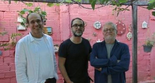 George Moura, José Luiz Villamarin e Walter Carvalho. Foto: Eraldo Peres