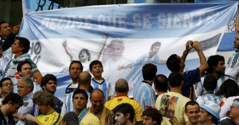 Torcedores da Argentina. Foto: Reprodução de Internet