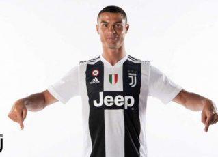 Cristiano Ronaldo é apresentado na Juventus. Foto: Divulgação