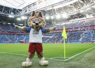 Mascote oficial da Copa da Rússia. Foto: Fifa