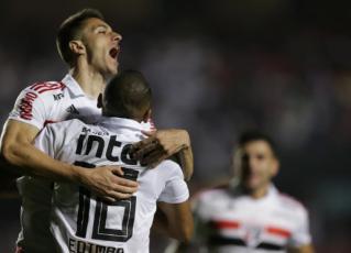 São Paulo vence e encerra o turno na liderança do Brasileiro. Foto: CBF/Divulgação