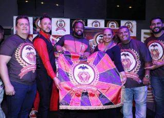 Lançamento da Imperadores Rubro-Negros. Foto: Divulgação