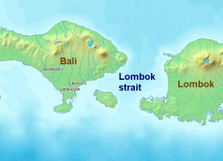 Lombok na Indonésia. Foto: Reprodução